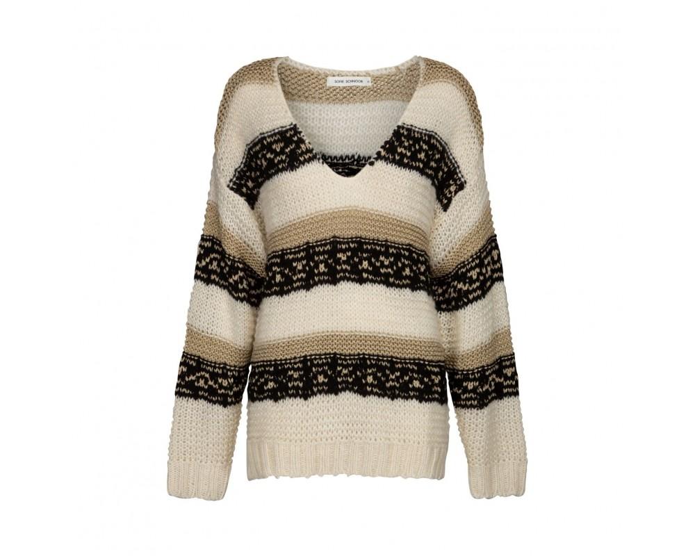 strik sweater sofie schnoor off white