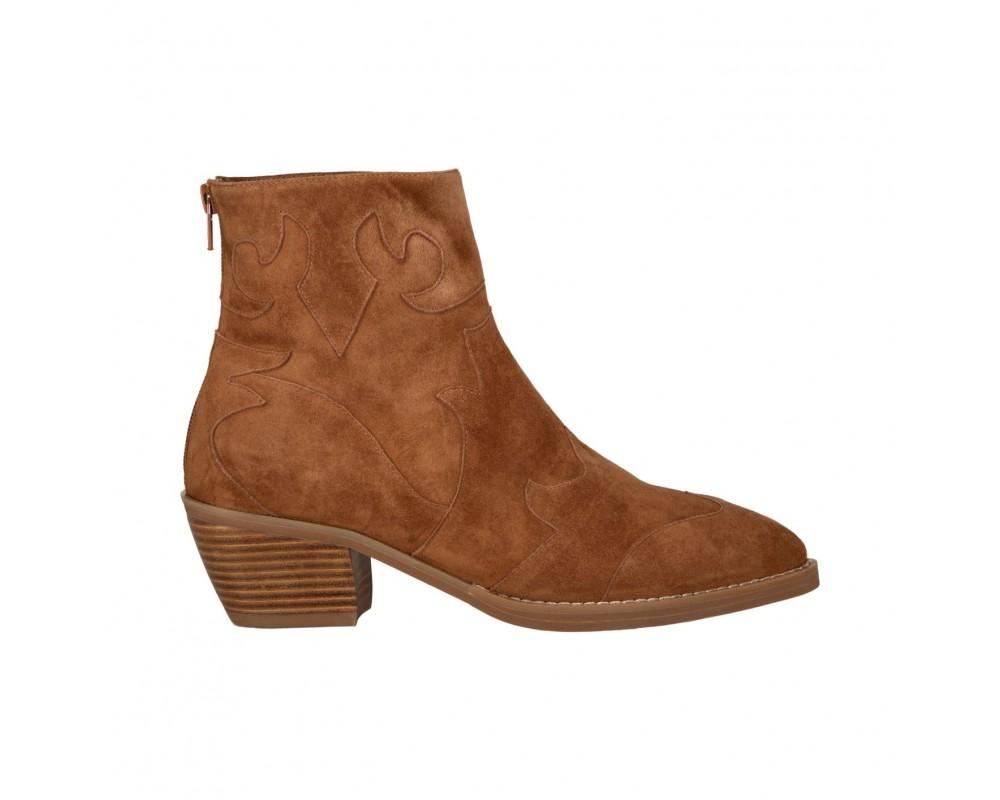 sofie schnoor støvle cowboy look brun