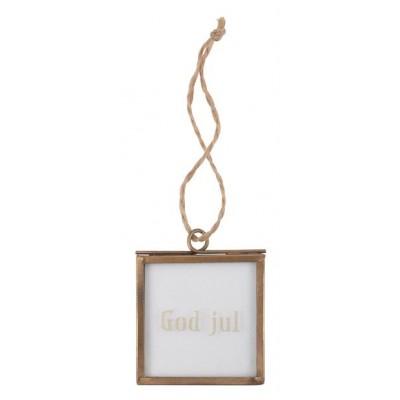 Ib Laursen Mini Glas Ramme / God Jul-31