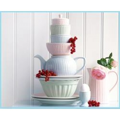 GreenGate Cereal bowl Alice pale pink-31