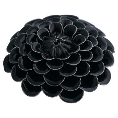 Gate Noir Dekoration Flower dark grey-31