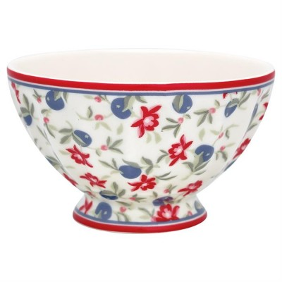 GreenGate French bowl medium Helena white-31