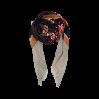 Black Colour FIONA deluxe tørklæde-32