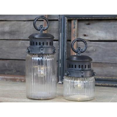 Chic Antique Fransk stald lanterne H30-31