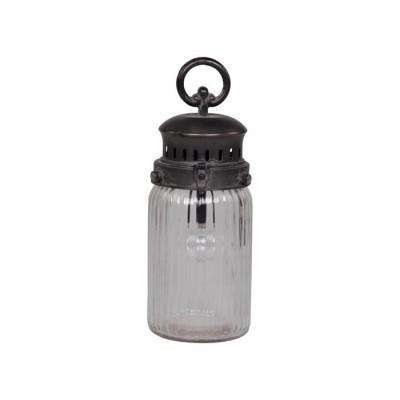 Chic Antique Fransk stald lanterne H22-31