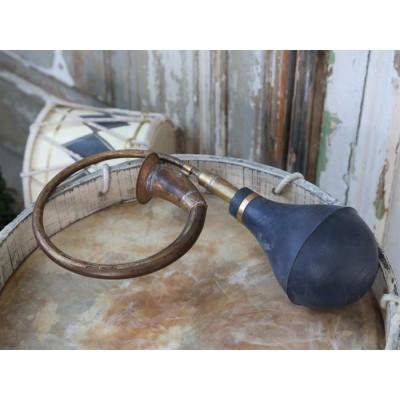 Chic Antique Posthorn Antique messing-31