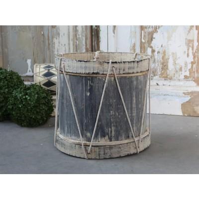 Chic Antique Vintage tromme Antique grå-31