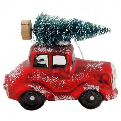julepynt til bil