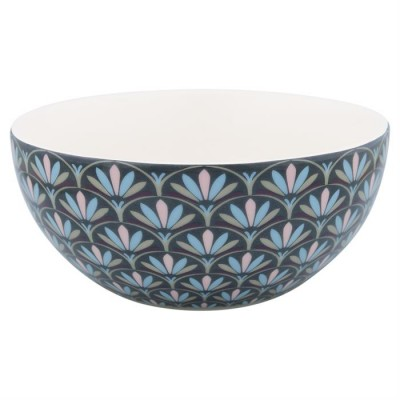 GreenGate Cereal bowl Victoria dark grey-31