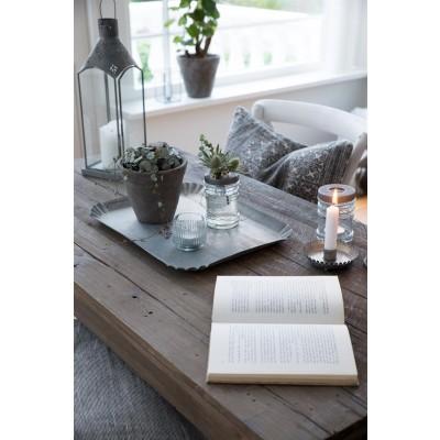 Ib Laursen Glas til fyrfadslys m/ metallåg-31