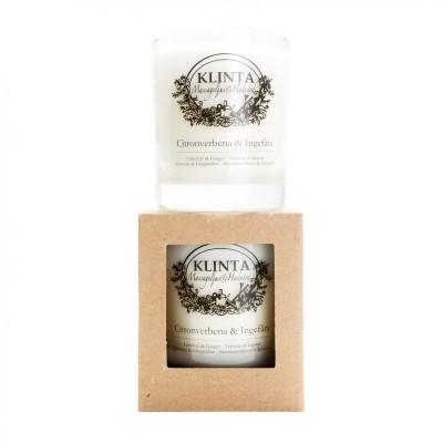 KLINTA duftlys - Citronverbena og ingefær