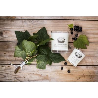 KLINTA duftlys - hindbær og kvæde