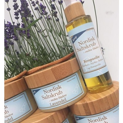 Nordisk Saltskrub Kropsolie Lavendel-31