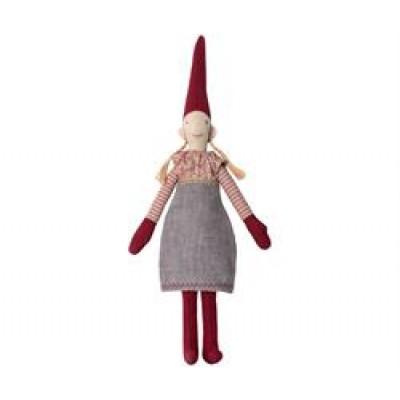 Maileg Mini Pixy Pige m/ grå kjole-31