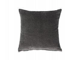 Grå Chic Antique pude i grå velour 16704-25