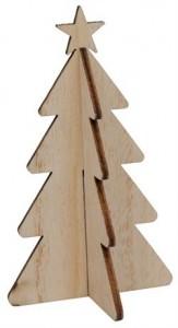 Ib Laursen Juletræ med stjerne Natur-20