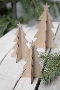 Ib Laursen Juletræ med stjerne Natur 16 cm-20