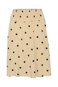 nederdel beige prikket saint tropez