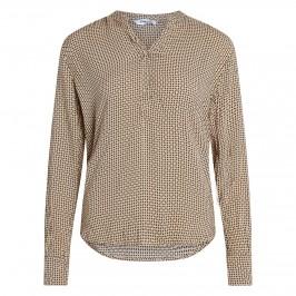 coco bluse beige og sort fra co couture