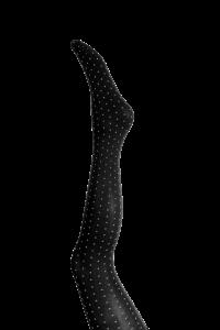 sort strømpebuks med prikker black colour