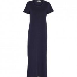 t-shirt kjole navy basic apparel