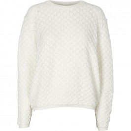 strik sweater offwhite basic apparel