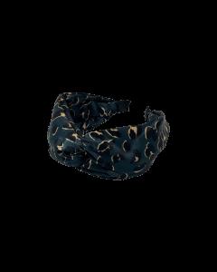 Black Colour hårbøjle med dyreprint