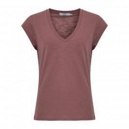 dame t-shirt m. v-hals coster copenhagen