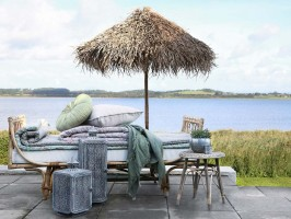 Rattan Dijon daybed fra Chic Antique