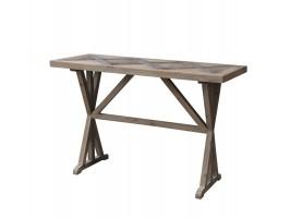Chic Antique fransk bord af genbrugstræ   40230-00