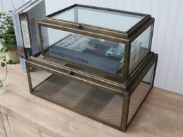 Fransk glas display fra Chic Antique