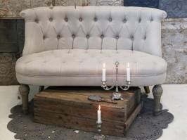 Chic Antique Fransk Sofa til 2 personer