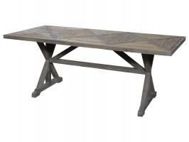 Chic Antique fransk spisebord af genbrugstræ 40198-00