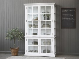 Hvidt Chic Antique vitrineskab 40202-01