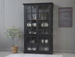 Sort vitrineskab fra Chic Antique 40202-24