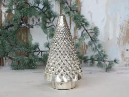 Chic Antique Juletræ H22,5 Fattigmandssølv-20