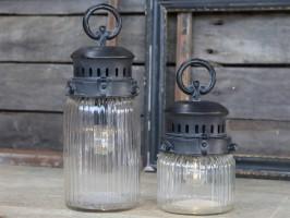 Fransk stald lanterne fra Chic Antique