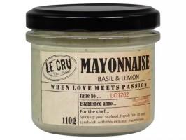 Le Cru Mayonaise Basilikum and citron-20