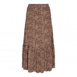 lang nederdel i dyreprint co couture