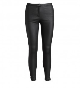 co couture New Julia Coated Pants Black-20