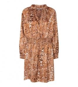 kort kjole lepardprint co couture