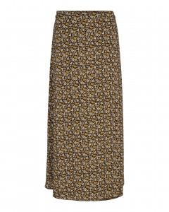 lang nederdel sort co couture