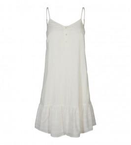 co couture strop kjole hvid