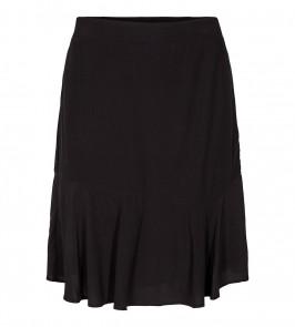 kort sort nederdel co couture