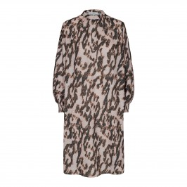 kort kjole i print co couture