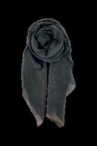 sort silke tørklæde black colour