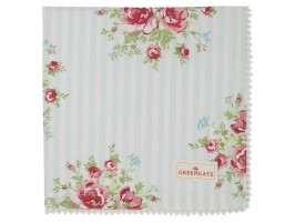 GreenGate Mid Season 2020 Nellie pale blue stofserviet