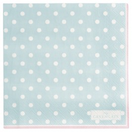 GreenGate serviet Spot pale blue