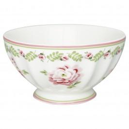 GreenGate French bowl Lily petit white