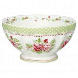 GreenGate French bowl XL Mary white-20